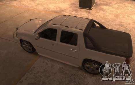 Chevrolet Avalanche v1.0 pour GTA 4 Vue arrière de la gauche