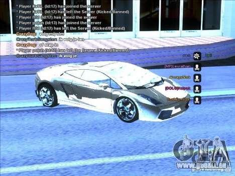 ENB séries pour carte vidéo faible pour GTA San Andreas cinquième écran