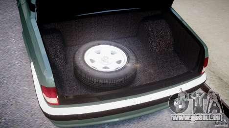 GAZ 31105 für GTA 4 Rückansicht