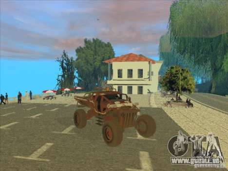 Jeep from Red Faction Guerrilla für GTA San Andreas