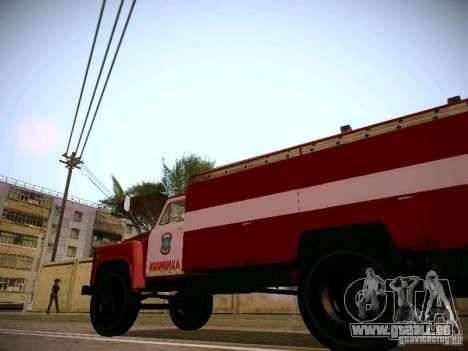 Gasschlauch 30 53 Feuer für GTA San Andreas Rückansicht