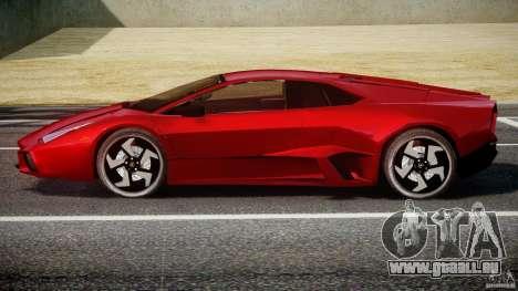 Lamborghini Reventon pour GTA 4 Vue arrière