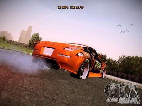 Nissan 370Z Chris Forsberg pour GTA San Andreas vue de droite