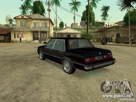 Willard from GTA 4 für GTA San Andreas linke Ansicht