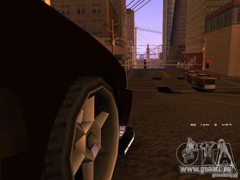 New Sultan pour GTA San Andreas laissé vue