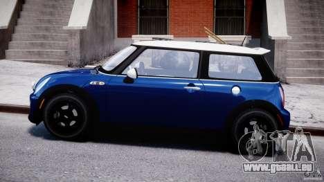 Mini Cooper S 2003 v1.2 pour GTA 4 est une gauche