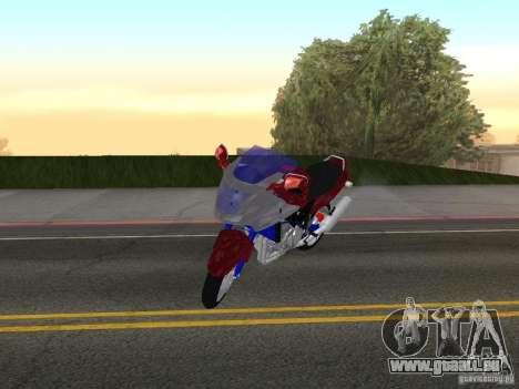 Honda CBR1100XX für GTA San Andreas linke Ansicht