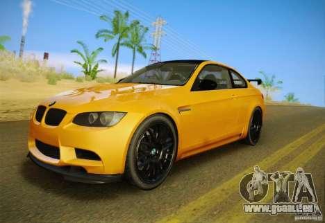 BMW M3 GT-S Final für GTA San Andreas Innenansicht
