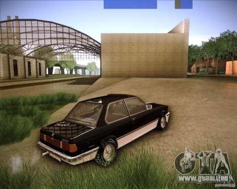 BMW E21 für GTA San Andreas linke Ansicht
