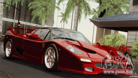 Ferrari F50 v1.0.0 Road Version für GTA San Andreas