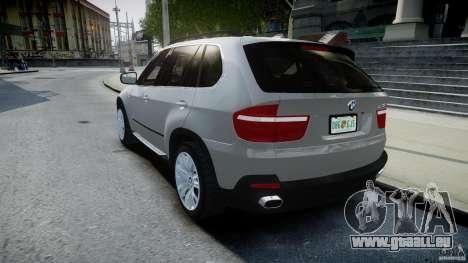 BMW X5 Experience Version 2009 Wheels 223M für GTA 4 hinten links Ansicht
