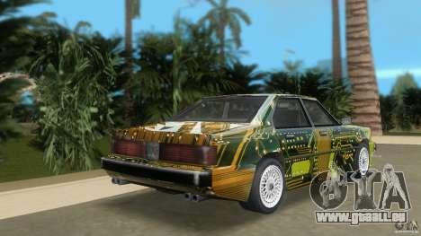 Sentinel Plato für GTA Vice City zurück linke Ansicht