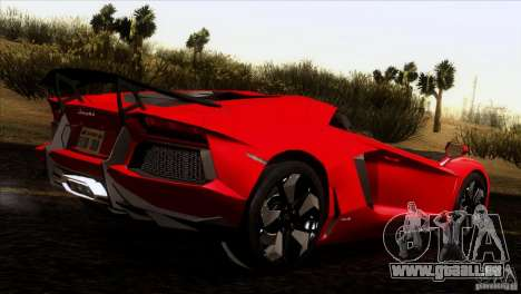 Lamborghini Aventador LP-700 J für GTA San Andreas Innenansicht