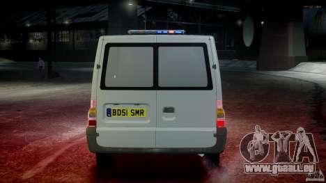 Ford Transit Polish Firetruck [ELS] pour GTA 4 Salon
