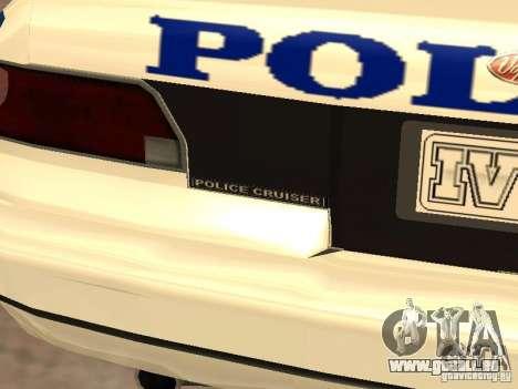 Die Polizei von GTA4 für GTA San Andreas obere Ansicht