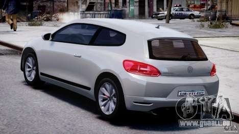 Volkswagen Scirocco III 2008 pour GTA 4