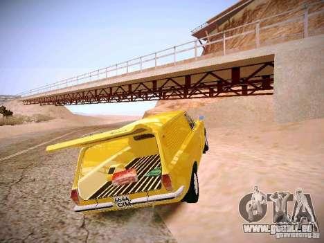Volga GAZ-24 02 Van pour GTA San Andreas vue arrière