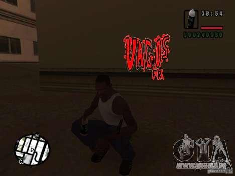Nouveaux gangs de graffiti pour GTA San Andreas cinquième écran