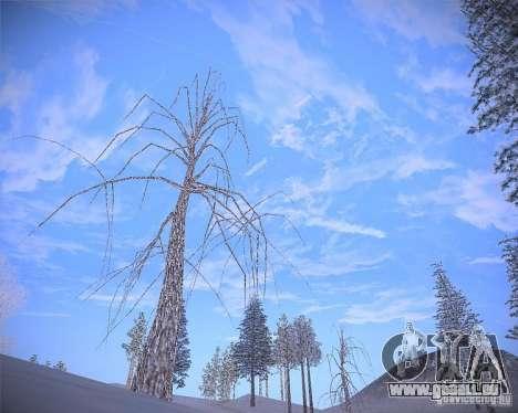 Real Clouds HD pour GTA San Andreas cinquième écran