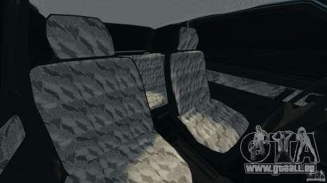 Vaz-2108 Spoutnik pour GTA 4 est une vue de l'intérieur