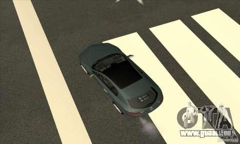 Alfa Romeo Brera du CNSA pour GTA San Andreas vue de dessus
