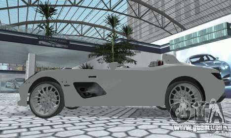 Mercedes-Benz SLR Moss 2008 pour GTA San Andreas vue de droite