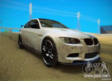 BMW M3 GT-S Final für GTA San Andreas zurück linke Ansicht