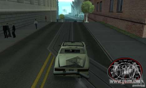 Speedo Skinpack FLAMES für GTA San Andreas zweiten Screenshot