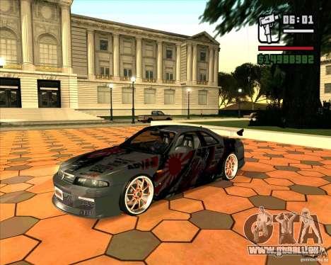Nissan Skyline r33 pour GTA San Andreas