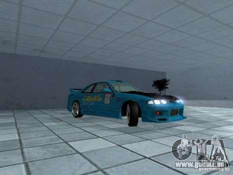 Nissan Skyline R 33 GT-R für GTA San Andreas Rückansicht