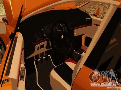Peugeot 407 für GTA San Andreas rechten Ansicht