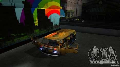 Comb do Bob and Rastaman pour GTA San Andreas vue intérieure