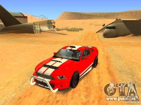 Ford Shelby GT500 für GTA San Andreas Innen