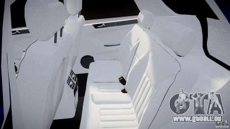 Mercedes-Benz ML63 AMG pour GTA 4 Vue arrière