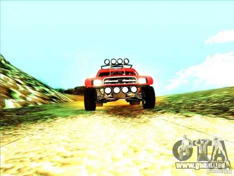 Toyota Tundra Rally pour GTA San Andreas vue de droite