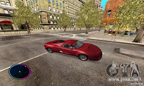 Axis Piranha Version II für GTA San Andreas