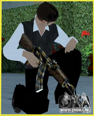 Tiger Weapon Pack pour GTA San Andreas