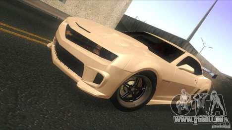 Chevrolet Camaro SS Dr Pepper Edition für GTA San Andreas linke Ansicht