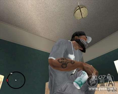 Rexona4Men Deodorant für GTA San Andreas zweiten Screenshot