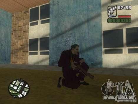 HQ Joker Skin für GTA San Andreas achten Screenshot