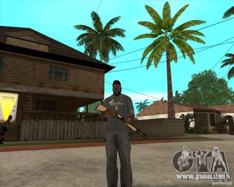 Gta IV weapon anims pour GTA San Andreas