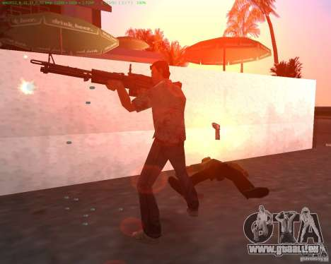 Die neue M-60 für GTA Vice City zweiten Screenshot