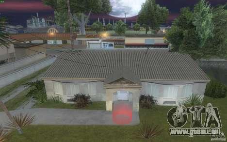 Quatre maisons neuves Grove Street pour GTA San Andreas quatrième écran
