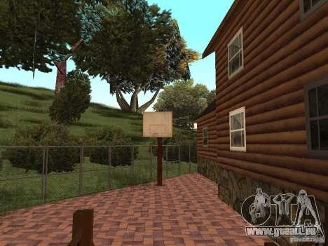 Villa neuve pour CJ pour GTA San Andreas neuvième écran