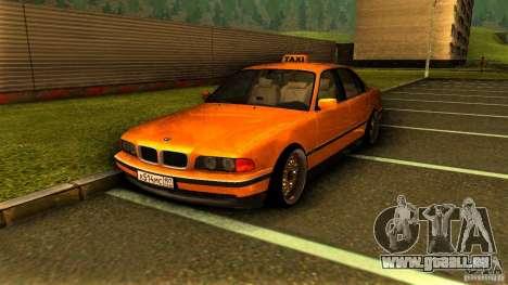 BMW 730i Taxi pour GTA San Andreas