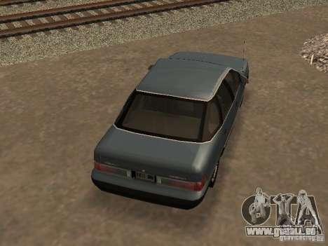 Mercury Sable GS 1989 pour GTA San Andreas vue intérieure
