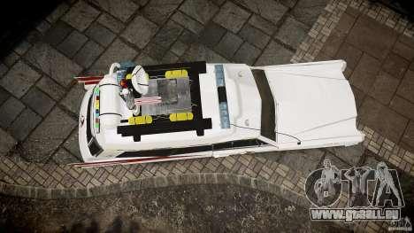 Cadillac Ghostbusters für GTA 4 Seitenansicht