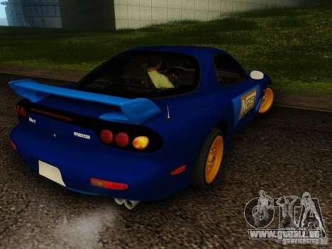 Mazda RX7 Nos pour GTA San Andreas laissé vue