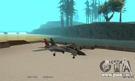F14W Super Weirdest Tomcat Skin 2 pour GTA San Andreas