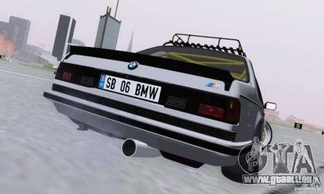 BMW M635CSi Stanced für GTA San Andreas rechten Ansicht